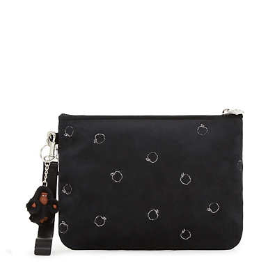 Disney's Snow White Sweetie Medium Wristlet Pouch - Black