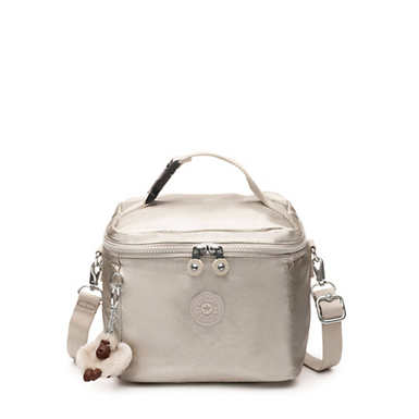 Metallic Lunch Bag - Cloud Grey Metallic