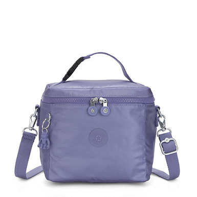 Graham Metallic Lunch Bag - Metallic Purple