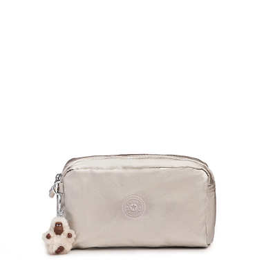 Gleam Metallic Pouch - Cloud Metallic