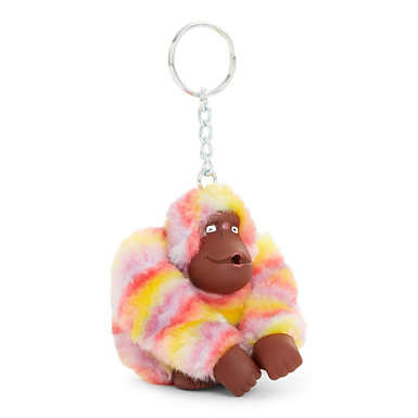 Sven Monkey Keychain - Rainbow