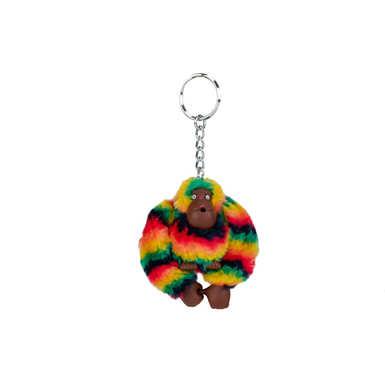 키플링 스벤 원숭이 키체인 Kipling Sven Monkey Keychain,Rainbow