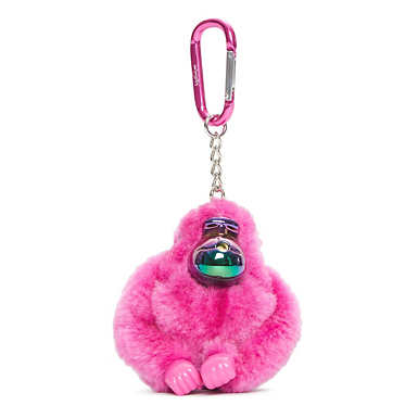 Lou Monkey Keychain - Very Berry