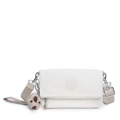 Lynne 3-in-1 Convertible Crossbody Bag - Alabaster Tonal Zipper