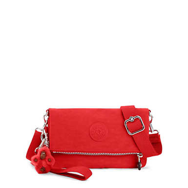 Lynne 3-in-1 Convertible Crossbody Bag - Cherry