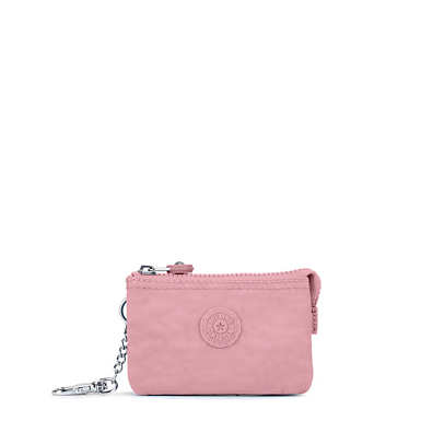 Mini Creativity Keychain - Strawberry Pink Tonal Zipper