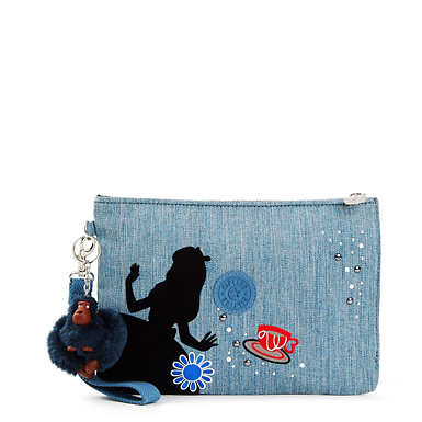 Disney's Alice in Wonderland Ellettronico Large Cosmetic Pouch - undefined