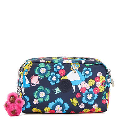 Disney's Alice in Wonderland Gleam Printed Pouch - Tea Rose