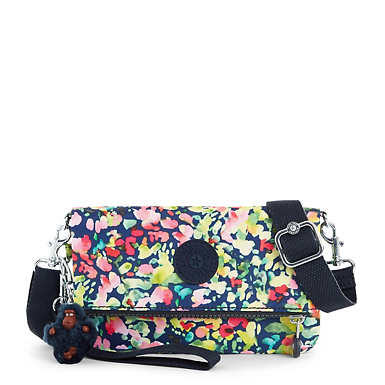 Lynne 3-in-1 Printed Convertible Crossbody Bag - Sweet Bouquet
