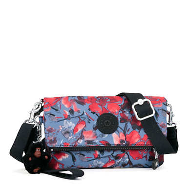 Lynne 3-in-1 Printed Convertible Crossbody Bag - Festive Floral