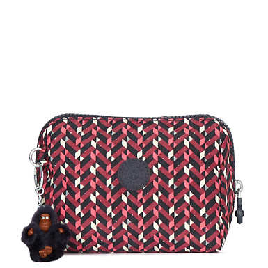 Inami Printed Pouch - Pink Chevron BL