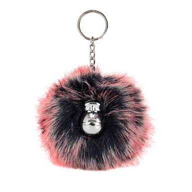 Pompom Monkey Keychain