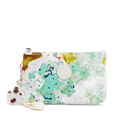 Creativity Extra Large Printed Pouch - Luscious Florals W Combo