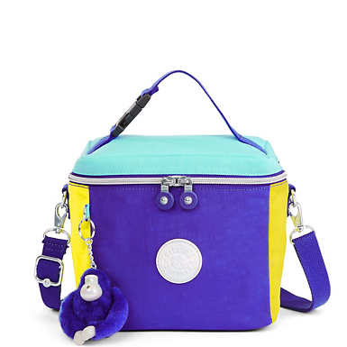 Graham Color Blocked Lunch Bag - Multi Combo