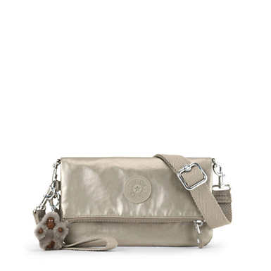 Lynne 3-in-1 Metallic Convertible Crossbody Bag
