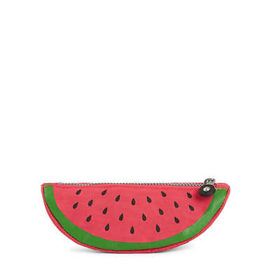 Watermelon Pencil Pouch - Multi Splatter