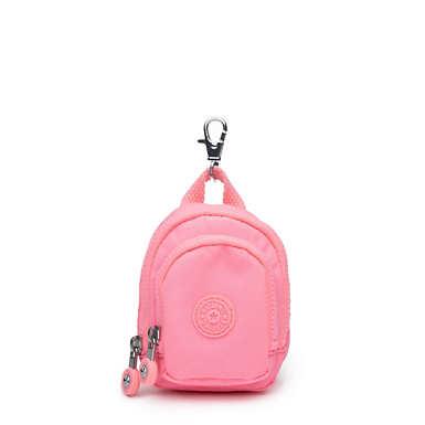 Mini Seoul Keychain - Conversation Heart Tonal Zipper