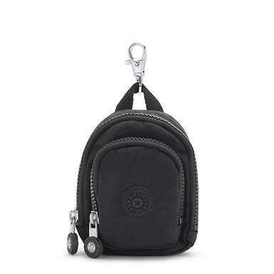 키플링 서울 백팩 미니 키체인 Kipling Seoul Mini Keychain,Black Noir