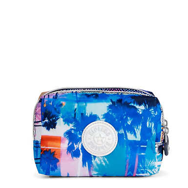Elin Printed Cosmetic Case - Printed Prism Combo