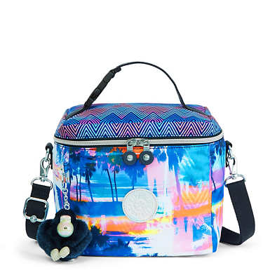 Graham Printed Lunch Bag - Printed Prism Combo
