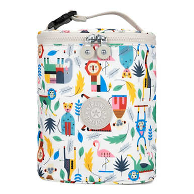 Printed Insulated Travel Case Baby Bottle Case
