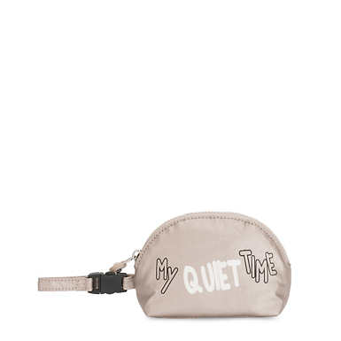 Pacifier Metallic Travel Pouch