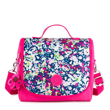 Kichirou Printed Lunch Bag - Brushed Floral