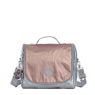 Kichirou Metallic Lunchbag - Rose Gold Combo