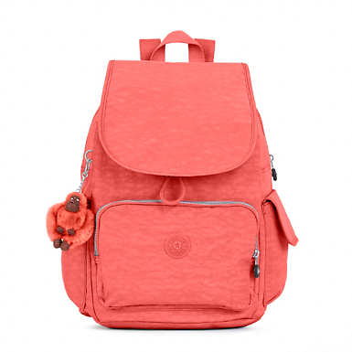 Ravier Medium Backpack - Papaya Orange