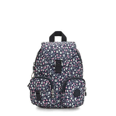 Lovebug Small Printed Backpack - Floral Rush