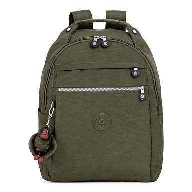 Micah Medium Laptop Backpack - Jaded Green