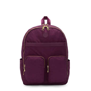 "Tina Large 15"" Laptop Backpack - Deep Plum"