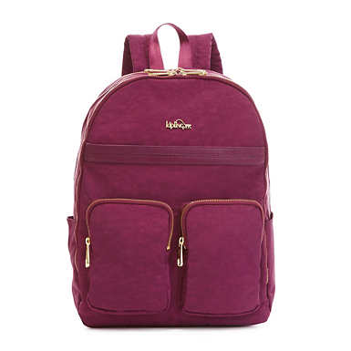 "Tina Large 15"" Laptop Backpack - Deep Plum Combo"