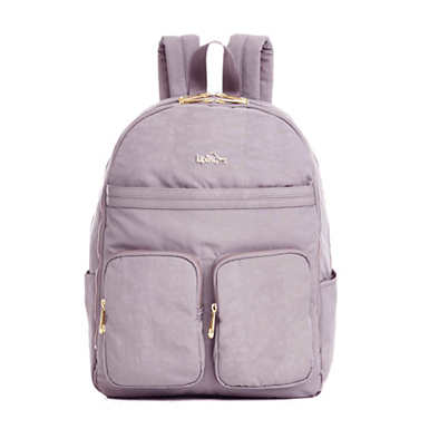 Tina Large Laptop Backpack - Antique Rose Combo