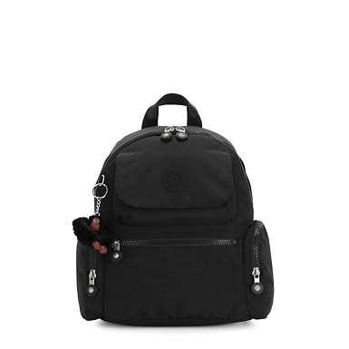 Matta Small Backpack - Black Tonal Zipper