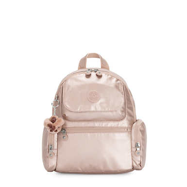 Matta Small Metallic Backpack - Quartz Metallic