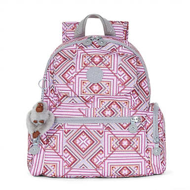 Matta Small Printed Backpack - Splashy Maze
