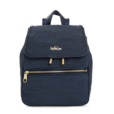 키플링 Kipling ClaudetteSmall Backpack,True Dazz Navy
