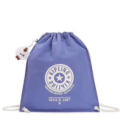 Emjay Drawstring Backpack - Bold Purple