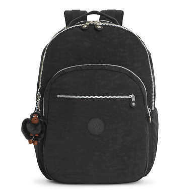 Seoul Extra Large Laptop Backpack - Black