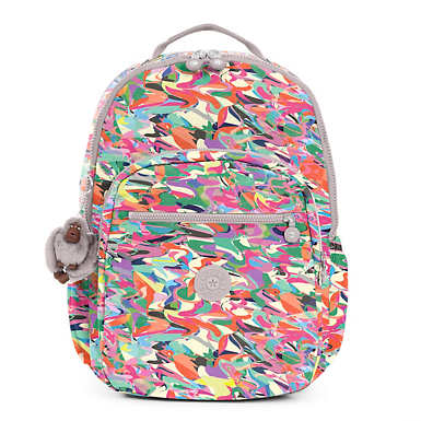 Seoul Extra Large Printed Laptop Backpack - undefined