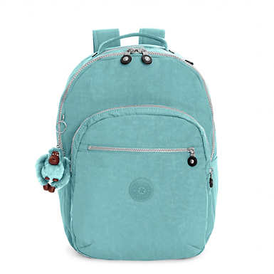 Seoul Large Laptop Backpack - Baltic Mint Green