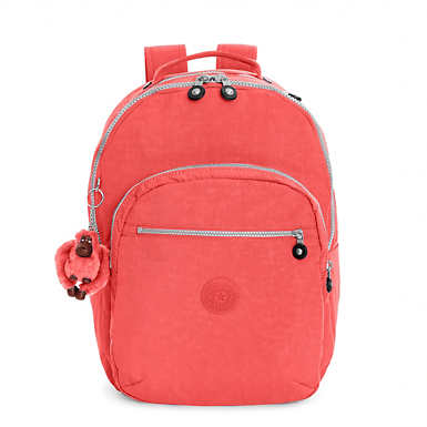 Seoul Large Laptop Backpack - Papaya Orange