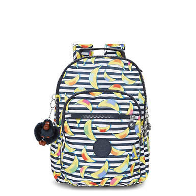 Seoul Small Printed Backpack