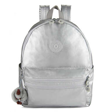 Bouree Small Backpack - Bright Silver