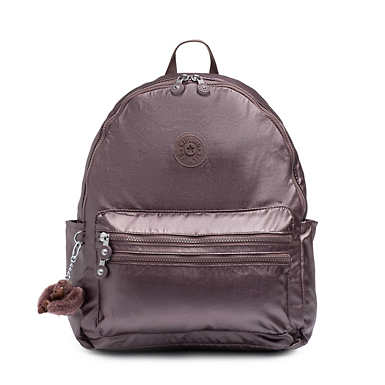 Bouree Small Backpack - Popping Purple Metallic