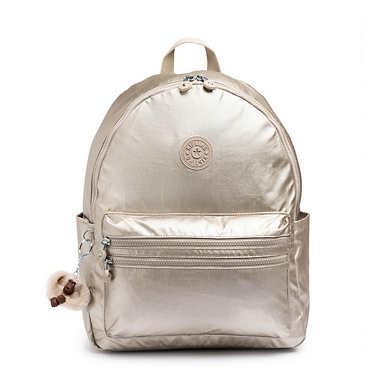 Bouree Small Backpack - Gleaming Gold Metallic