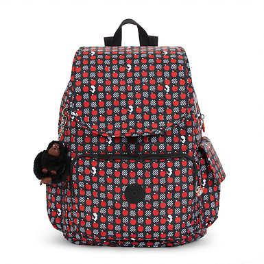 Disney's Snow White Ravier Medium Printed Backpack - Hypnotic Apples