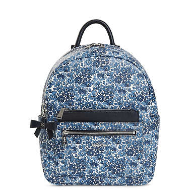 Amory Small Printed Backpack - Bubbly Floral