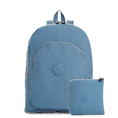 Earnest Foldable Backpack - Blue Bird